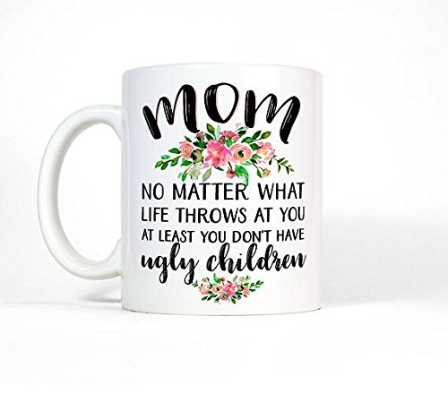Collection Lladro Porcelain Figurine (Funny Mom Mug | Mom Birthday Gift from Daughter | Funny Coffee Mug Mom | Gift for Mom from Daughter | Gift for Mom Gift | Floral Mug)