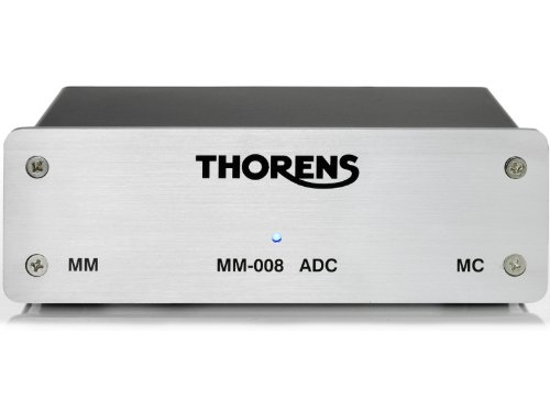 THORENS MM 008 ADC MM/MC Phono Preamp w/USB out for Digital Recording by Thorens