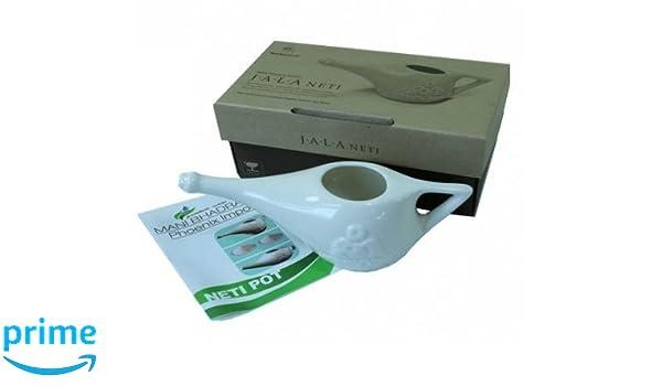 Neti Pot de cerámica 150 ml Limpiar Le cavità nasal Limpieza ...