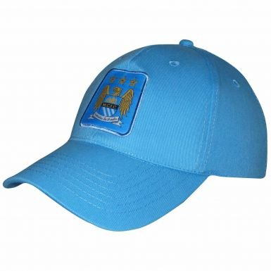 bc2ce1797ba Image Unavailable. Image not available for. Color  Man City Crest Baseball  Cap