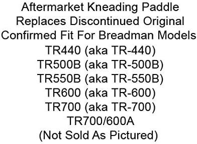 Amazon.com: breadman tr700 Pan Machine Paddle TR-700 Blade ...