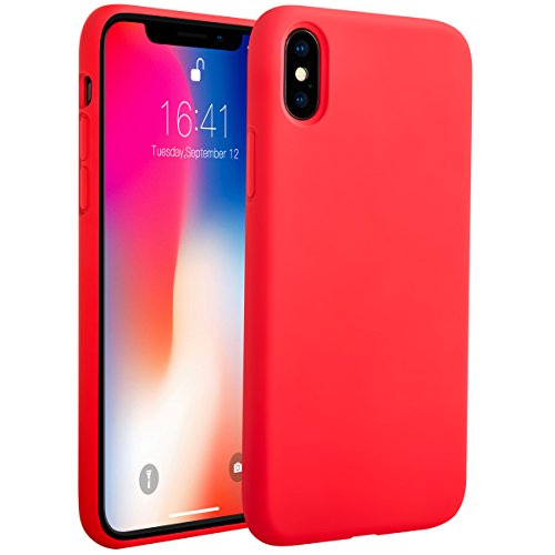 iPhone-X-Silicone-Case-iPhone-X-Case-Miracase-Liquid-Silicone-Gel-Rubber-Cover-with-Soft-Microfiber-Lining-Full-Body-Protection-Shockproof-Drop-Protection-for-Apple-iPhone-X