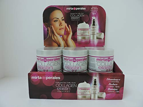 Mirta de Perales Collagen Elastin Cream, 4 oz Pack of 3