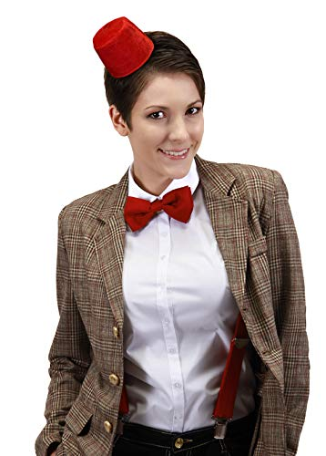 elope Doctor Who Mini Fez & Bowtie Costume Kit