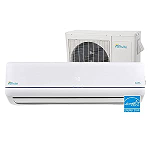 Senville SENA-12HF-Z 12000 BTU 22 SEER Split Air Conditioner and Heat Pump, Mini