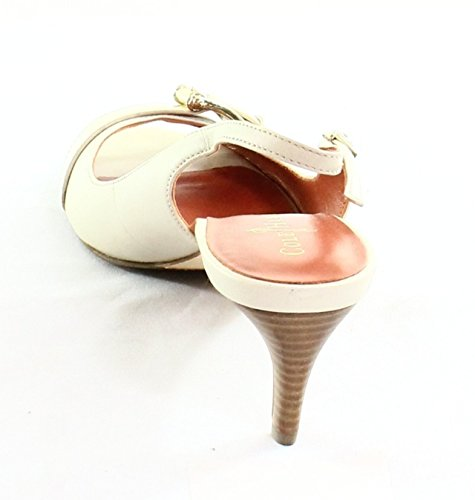 Cole Haan Donna Air Judy Open Toe Slingback 55 Pino Bianco