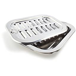 Sur La Table Stainless Steel Broiler Pan 246597-1 , 12\