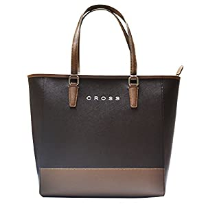 Cross ANDORRA Women's Tote Bags (BROWN/TAUPE)