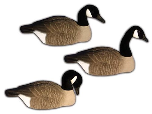 Canada Goose parka sale authentic - 6 - Pk. Higdon Standard Size Half Shell Canada Goose Decoys ...