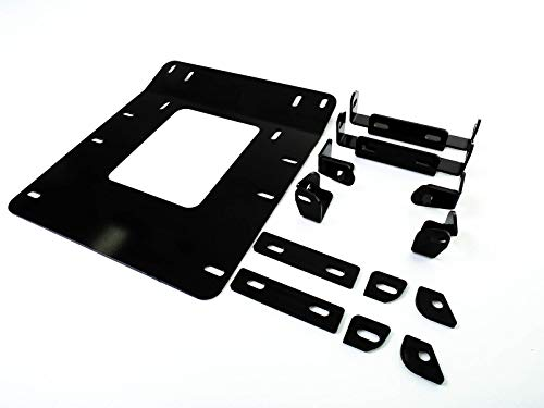 SuperATV Heavy Duty Front Suspension Frame Support/Stiffener for Honda Pioneer 1000/1000-5 - Black - Adds Support, Stability, and Strength! -  SuperATV.com, FS-H-PIO1K-02