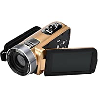 Dreamyth Infrared Night Vision Remote Control Handy Camera HD 1080P 24MP 18X Digital Zoom Video Camera DV with 3.0 LCD and 270 Degree Rotation Screen New Year Gift