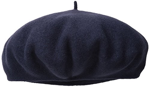 Dorfman Pacific Women's Scala Wool Beret, Navy, One Size