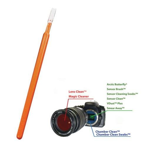 Visible Dust V3098687 Orange Corner Swabs 16 Swabs Amplis Foto Inc