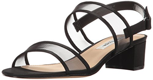 Nina Women's Ganice Dress Sandal, YM-a-Black, 7 M US