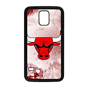 DAZHAHUI Bulls logo Phone Case for Samsung Galaxy S5