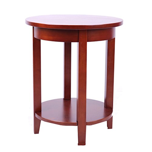 Alaterre Shaker Cottage Round Accent Table, Cherry Review