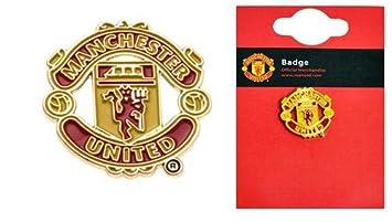 Accessoires Manchester United offizielle Fu/ßballfan-Produkte im Set Geschenke und Schreibwaren