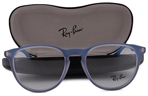 Ray Ban RX7046 Eyeglasses 51-18-140 Azure Iridescent 5484 - Ray Return Ban