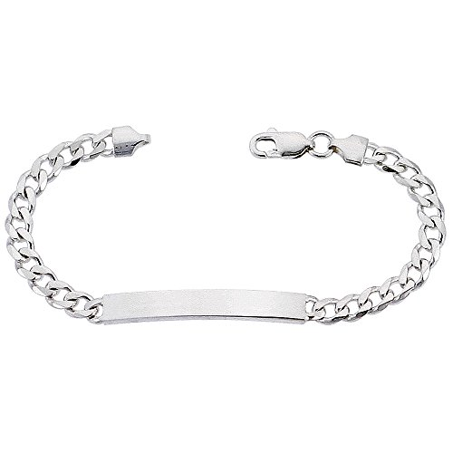 Sterling Silver Bracelet Nickel Italy