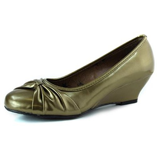 Top Moda Womens Cd-02 Wedge Fashion Shoes