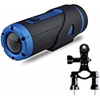Becoler Powerful Night Vision warrior Full HD 1080P Sports Action Camera Waterproof with 32GB MicroSD card (Bike Holder included)