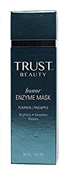 Enzyme Mask By Trust Beauty – Natural Anti Aging Exfoliating Fruit Enzyme Face Mask and Facial Cleanser, Helps Digest Dead Dull Dry Cells, Add Radiance To Skin, With Pumpkin a Pineapple for Women, Men