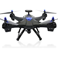 Startview Global Drone 6-axes X183 With 2MP WiFi FPV HD Camera GPS Brushless Quadcopter (Black)