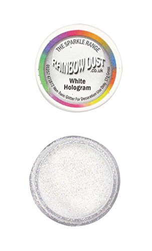 Price comparison product image Sparkle Range Hologram White Non-Toxic Glitter