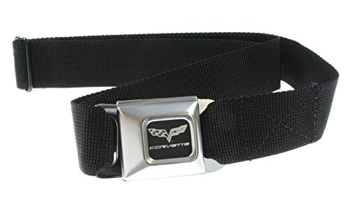 C6 Corvette Seat Belt Black Belt