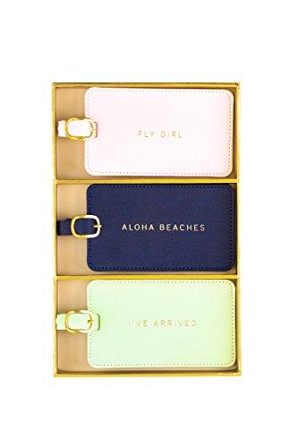 - Eccolo World Traveler Luggage Tag Set of 3, Aloha, Aloha, One Size