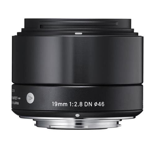 Sigma 19Mm F 2 8 Dn Lens For Sony Nex E Mount Cameras  Black