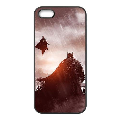 Batman coque iPhone 4 4S Housse téléphone Noir de couverture de cas coque EBDOBCKCO09865
