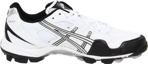 GEL ASICS Field White V Womens Black Silver Shoe Cut rpqxrgw