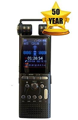 SpyGear-DeciVibe | 16GB | Celphone and Landline Call Recording | Digital Voice Recorder | 50 Year Warranty | Smartphone Cellphone Audio Recorders - Techerific