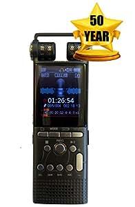 DeciVibe | 16GB | Celphone and Landline Call Recording | Digital Voice Recorder | 50 Year Warranty | Smartphone Cellphone Audio Recorders