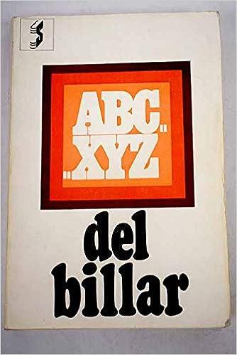 ABC...XYZ del billar Arte , ciencia y tecnica del billar: Amazon ...