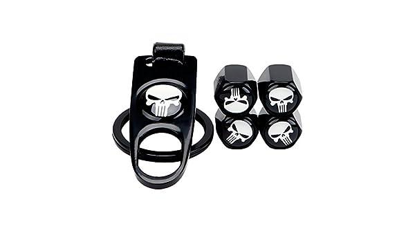 JINBEST Pack of 4 Tire Valve Caps Universal Wheel Tire Valve Stem Air Caps Covers