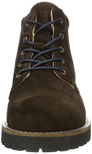 Foncé Marron Flatheel O'polo Marc Homme 70920036302303 Bootie Lace Rangers Boots pf8q1z