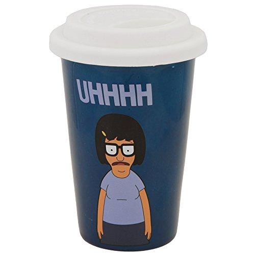 Bob's Burgers Tina Uhhhh Boxed 11 Oz. Ceramic Travel Mug]()