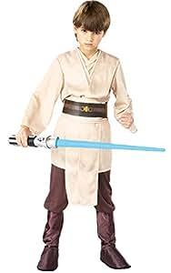 Rubies Costume Co. Star Wars Child's Deluxe Jedi Knight Costume, Medium (size 8-10)