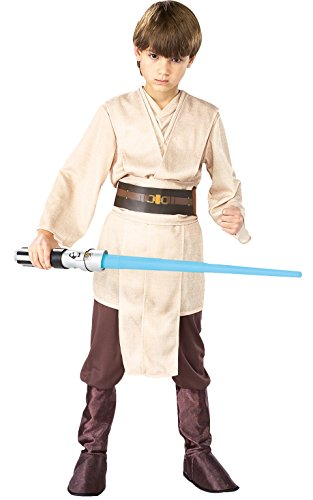 Star Wars Episode III Deluxe Child's Jedi Knight Costume, Medium (Jedi Costume)