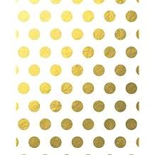 Gold Foil Large Polka Dots Notebook 8*10