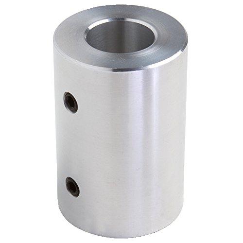 Climax Part RC-075-A Aluminum Rigid Coupling, 3/4 inch bore, 1 1/2 inch OD, 2 inch Length, 5/16-18 x 3/8 Set - Rigid Coupling