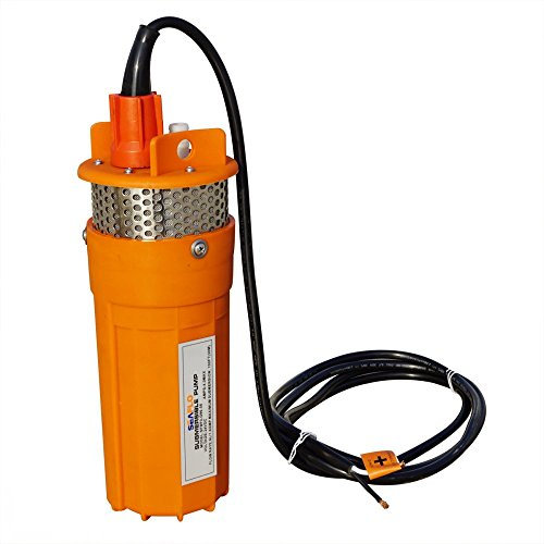 ECO-WORTHY 24V Submersible Deep Well Water DC Pump Farm & Ranch Submersible Deep Well Pump / Alternative Energy Solar (Submersible 4' Motor)