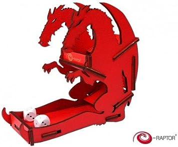 E-Raptor era19041 Dados Torres pequeño Dados Torre dragón Juego de Mesa, Rojo: Amazon.es: Juguetes y juegos