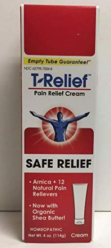 (T-Relief Pain Relief Ointment, [114g] 4 oz (Packaging May Vary))
