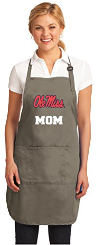 Broad Bay Ole Miss Mom Apron Best University of Mississippi Mom Logo Gift for or Woman Her