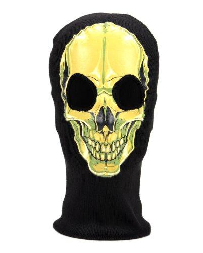 Mens Halloween Costume Skull Mask