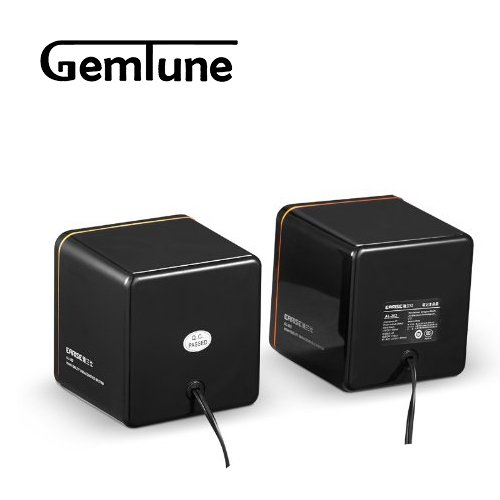 AL-202, High-fidelity USB Acoustics System, Powered by USB, for Laptops and Desktops, Cube Speakers, Gemini Doctor by Gemini Doctor (Image #4)