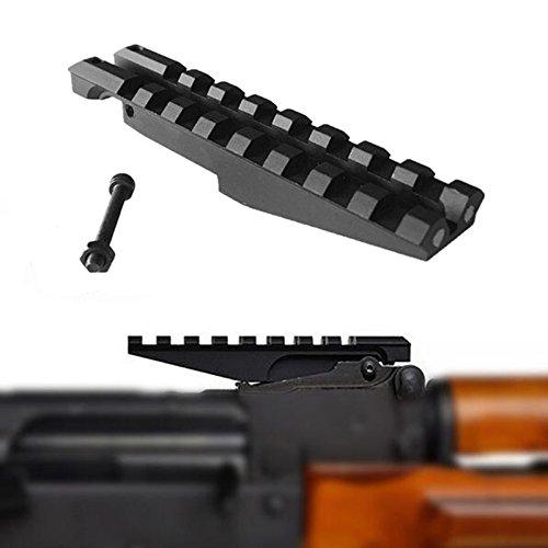 FIRECLUB Low Profile Picatinny Scope Mount for AK Series Rifles AK Rear Sight Series Rear Mount